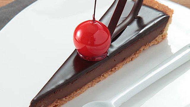 Recette de la Tarte Chocolat Concorde Cacao Barry