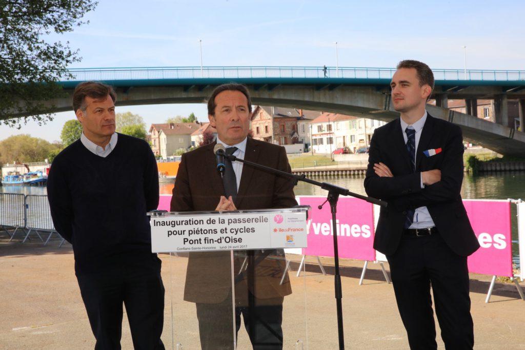 Passerelle Conflans Fin d'Oise