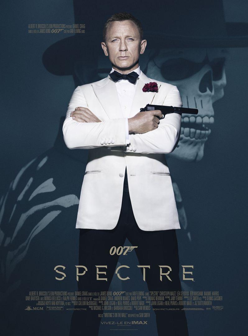 Affiche film 007 Spectre