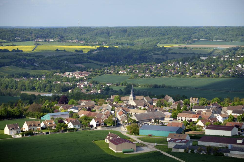 78 Yvelines Région Île-de-France / Le village de Montainville *** Local Caption *** The village of Montainville / 78 Yvelines Région Île-de-France