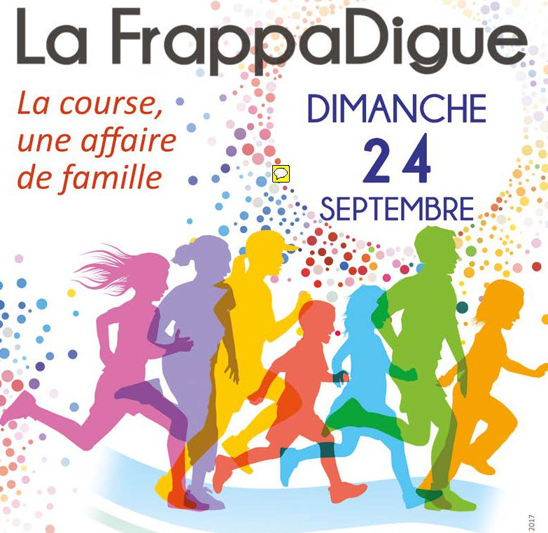Course FrappaDigue Affiche