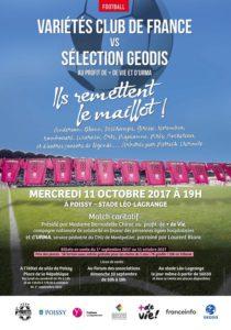 Match le 11 octobre prochain pour « + de Vie » et l'URMA