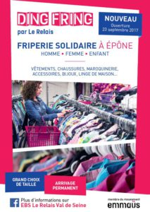 Flyer ouverture Epone - image