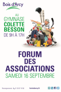 Forum des associations de Bois d'Arcy (2017)