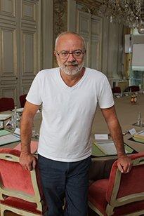 Olivier Baroux sur le tournage des Tuche 3 - CD78/ MC. Rigato