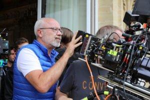 Olivier Baroux sur le tournage des Tuche 3 à l'Hôtel du département - CD78/ N.Duprey