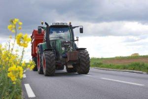 Tracteur routes