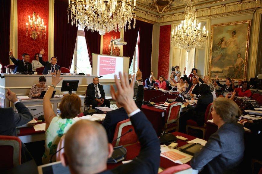 Assemblée départementale du 30 juin 2017