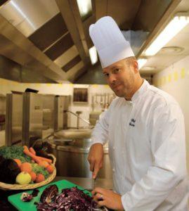 Cédric, Chef de cuisine au collège Pierre de Coubertin de Chevreuse