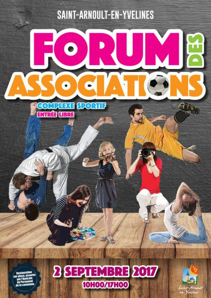 Forum des associations de St Arnoult (2017)