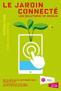 """Affiche """"Le jardin connecté, les solutions de demain"""""""