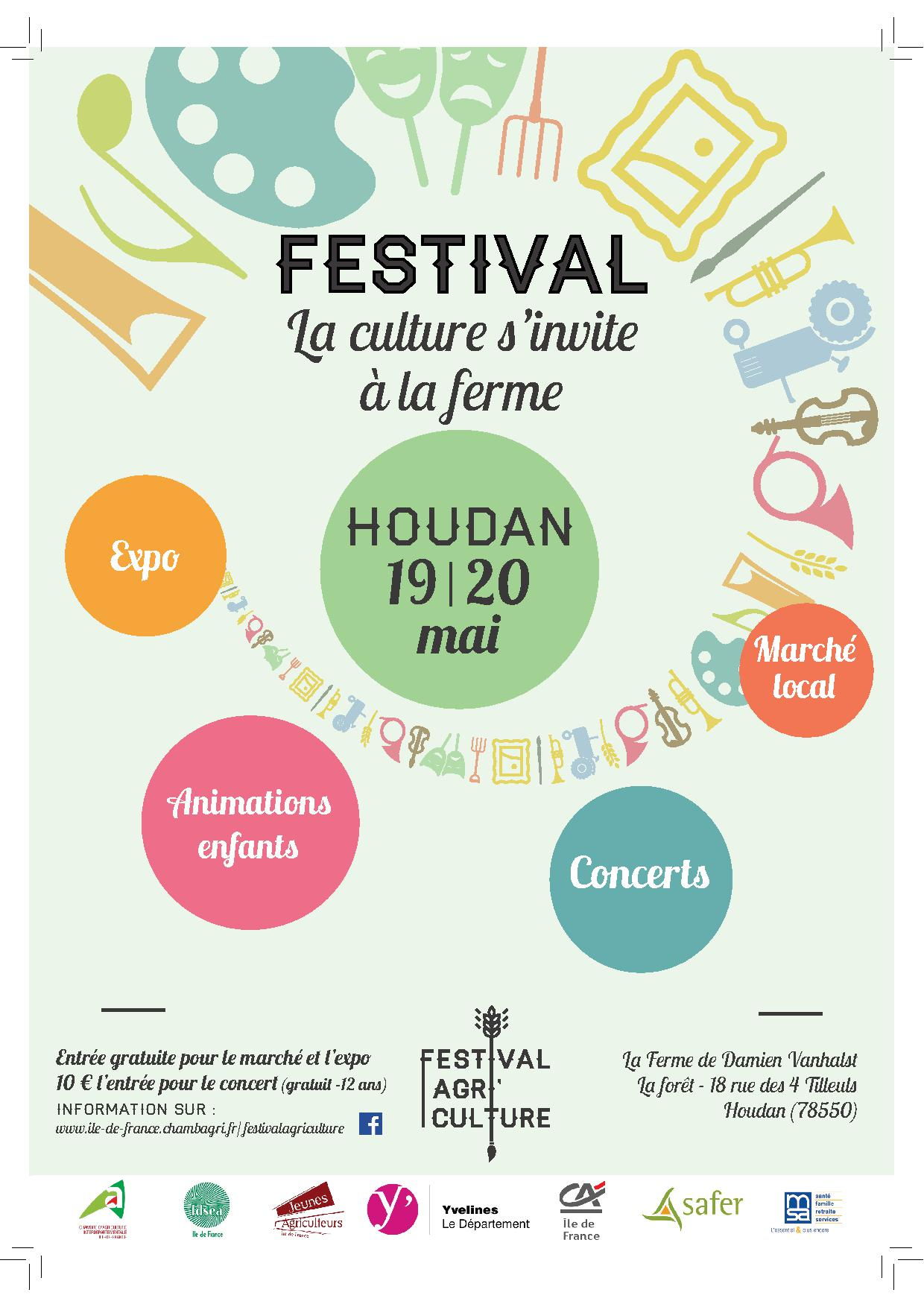 Festival agri culture week end festif houdan for Week end yvelines