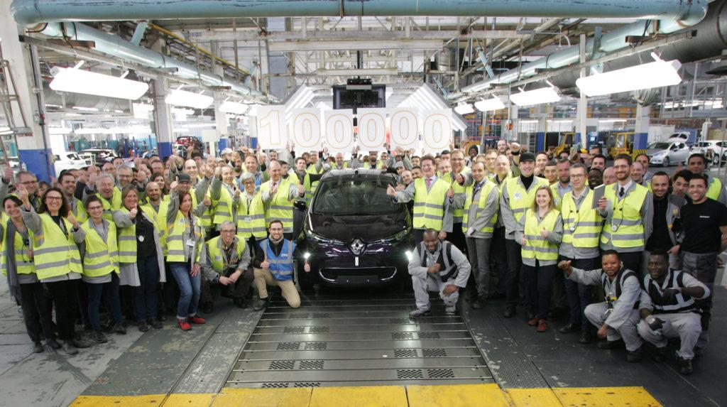 100K ZOE - Renault - Flins