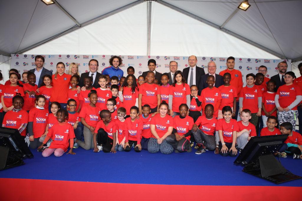 Ecole Rouge et Bleu - Fondation PSG - Mantes-la-Jolie