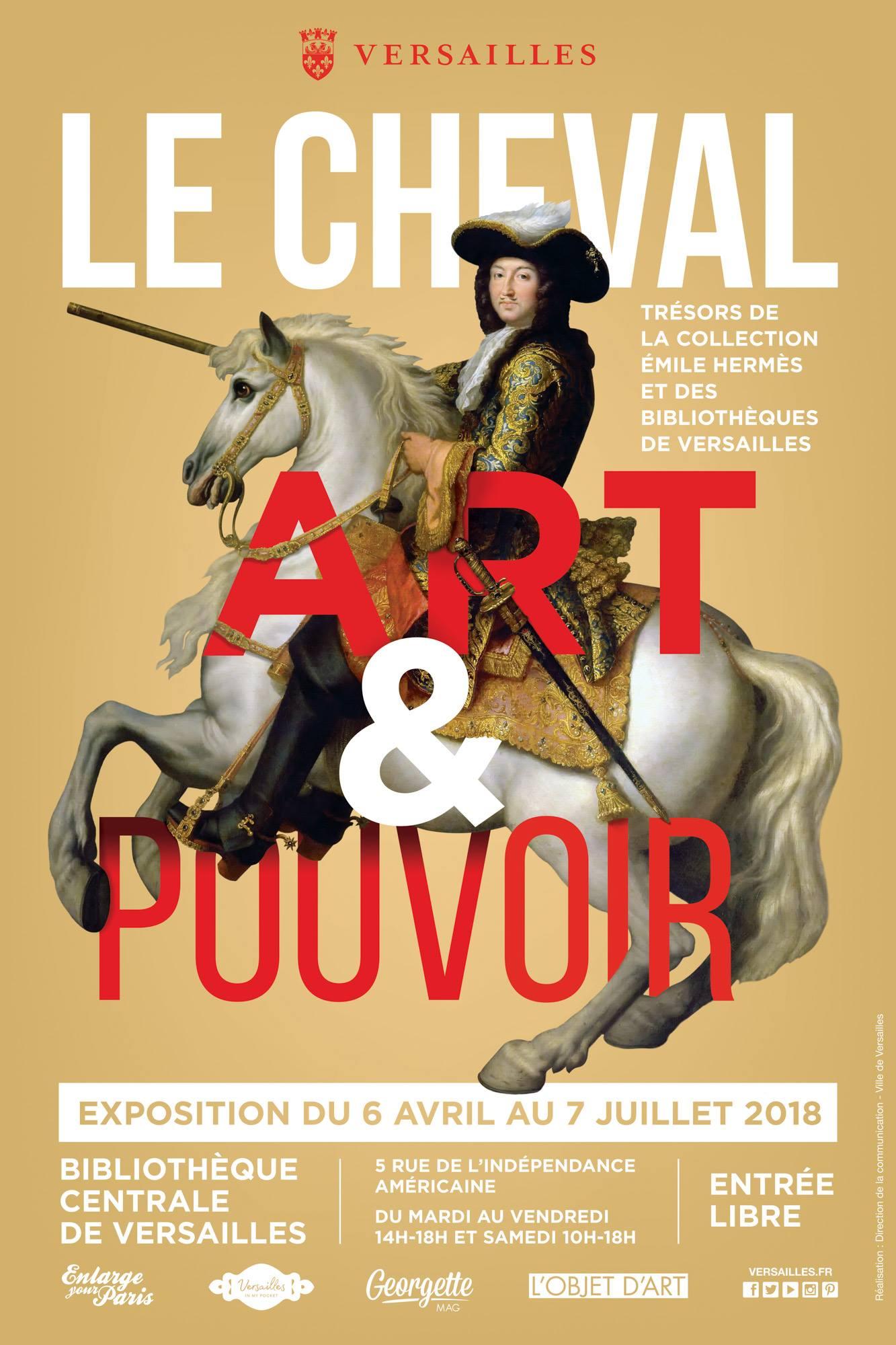 Le cheval, art et pouvoir