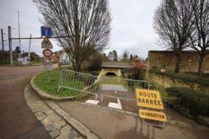 Crue de la Seine à Villennes-sur-Seine
