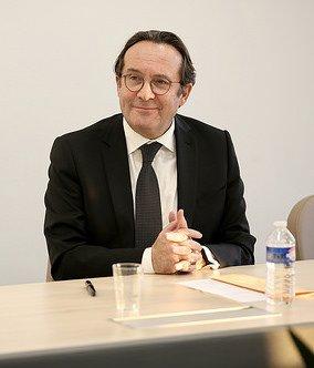 Pierre Bédier lors de son entretien avec les Yvelinois © CD78 / N.Duprey