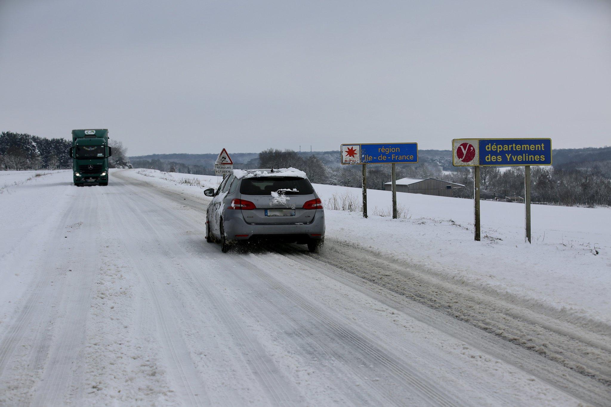 Les Yvelines sous la neige