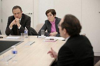 Damien Guibout, maire de Davron, interpelle Pierre Bédier sur le chômage dans les Yvelines et sur les moyens d'y palier © CD778 / N.Duprey