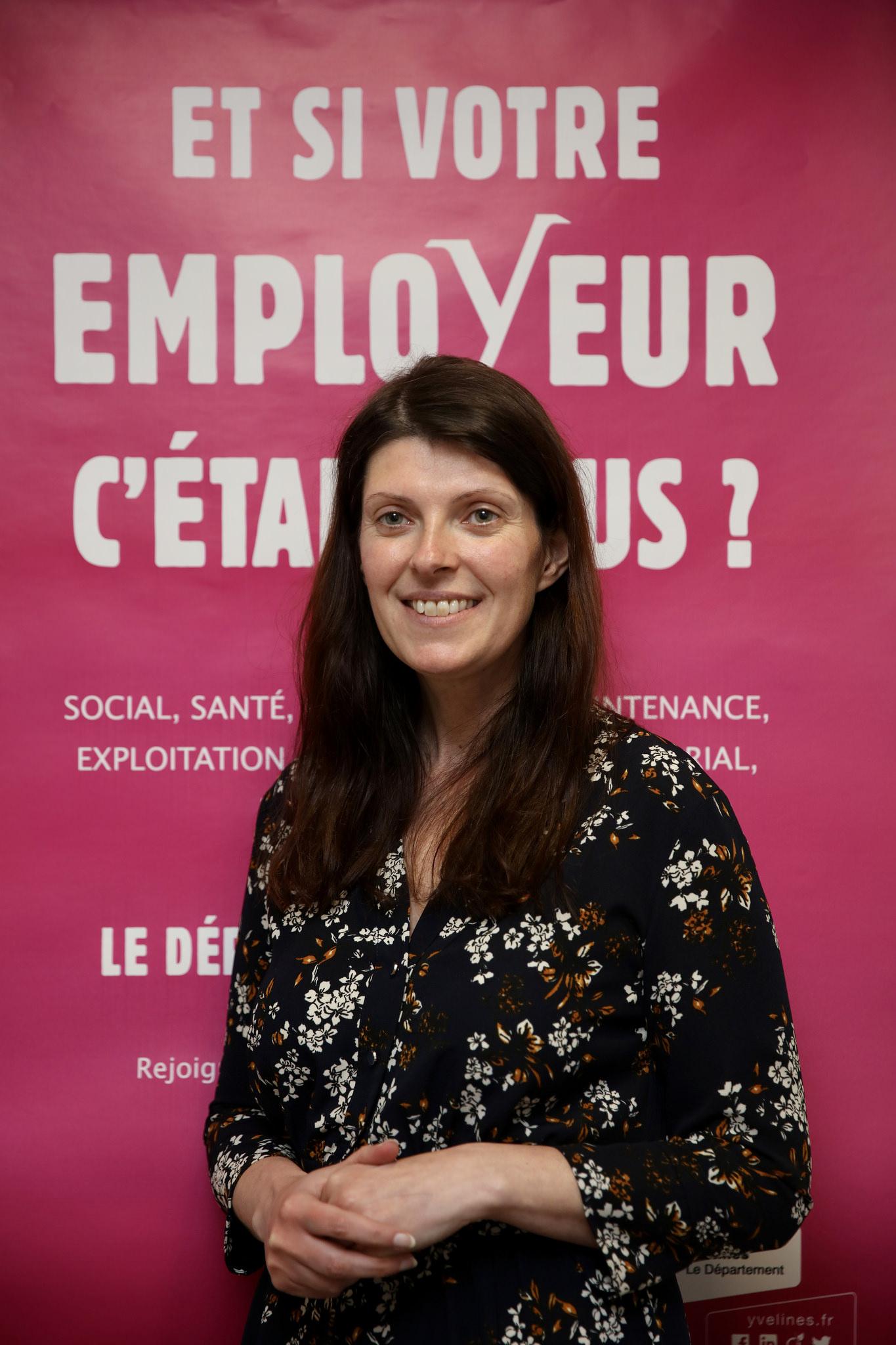 Sandrine Marguerès, Responsable Ressources Humaines du Département © CD78 / N.Duprey
