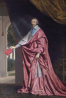 Le Cardinal de Richelieu vers 1637 © Wikimédia