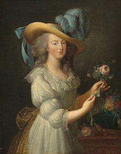 """Portrait de la Reine """"en gaule"""" (1783) © Wikimé"""