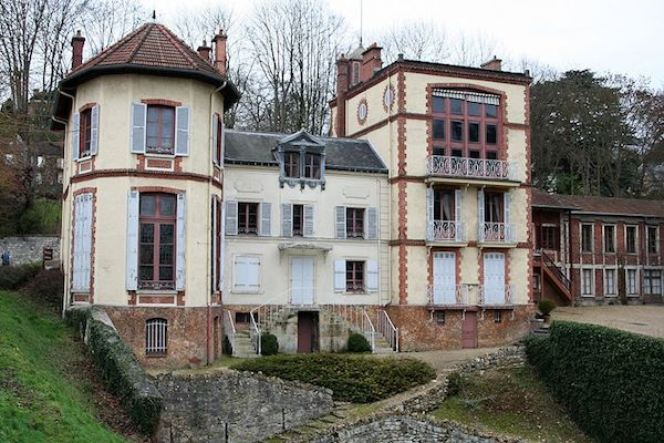 Maison d'Emile Zola à Médan © Wikimédia
