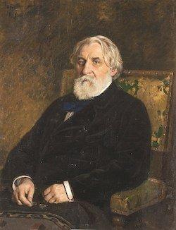 Ivan Tourgueniev par Ilia Répine (1874) - © Wikimédia