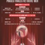 Affiche phases finales UM N2 2018