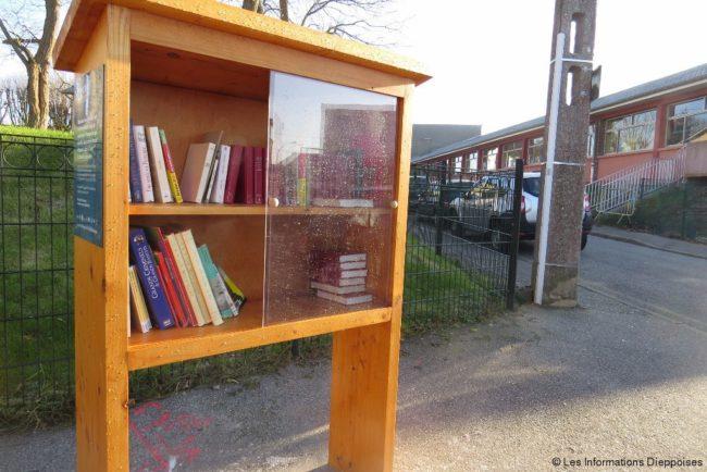 Modèle d'inspiration pour les nouvelles boîtes à livres dans les Yvelines © Les Informations Dieppoises
