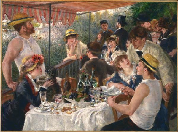 Le déjeuner des canotiers (1881) - Auguste Renoir © Google Arts & Culture