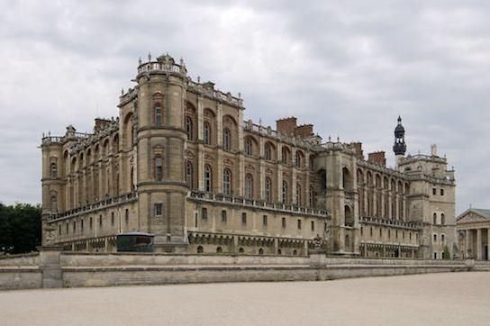Vue de la façade sur le jardin de Le Nôtre © Wikimédia