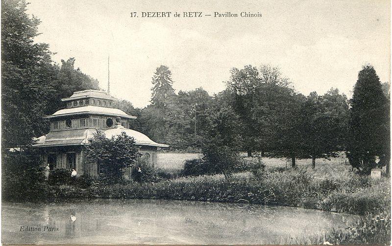 Le pavillon chinois du Désert de Retz © Wikimédia