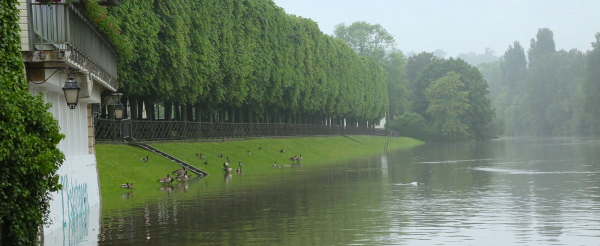 Inondations à Poissy