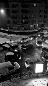 Neige à Poissy