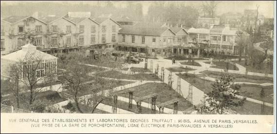 Etablissements et laboratoires Truffaut à Versailles © Wikimédia