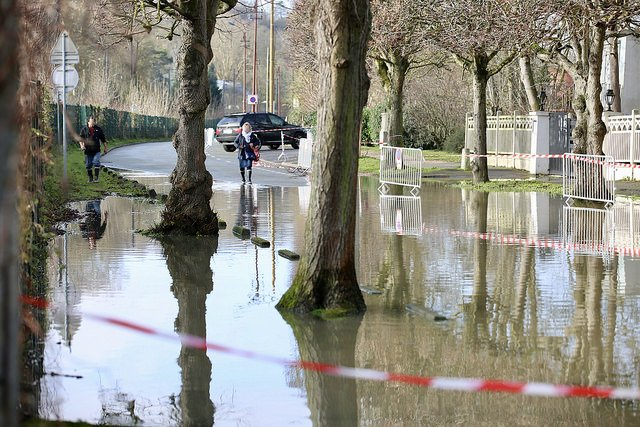 Inondation à Poissy / N.Duprey - CD78