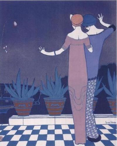 1911, dessin de Georges Lepape © Wikimédia