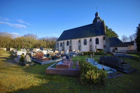 Eglise de Raizeux. Photo N.Duprey/CD78