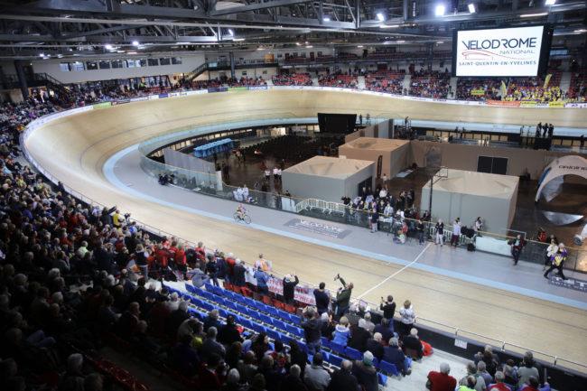 Le Vélodrome National : un équipement unique et prestigieux © CD78/N.DUPREY