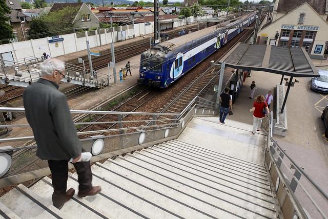 Les transports en Ile-de-France sont une des priorités des habitants. © CD78/N.DUPREY