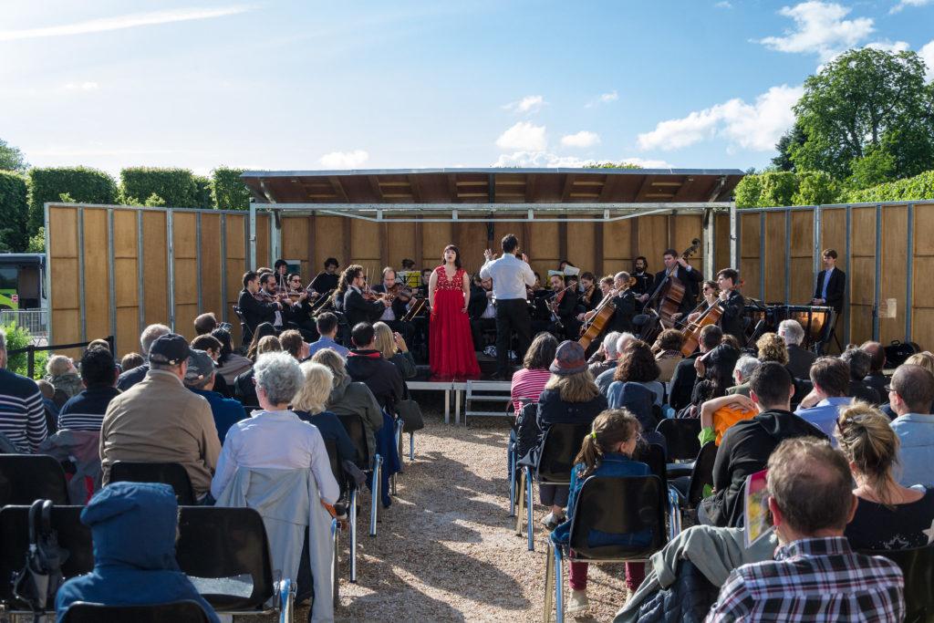 Concert de l'Orchestre de l'Alliance © CD78 / MC.Rigato