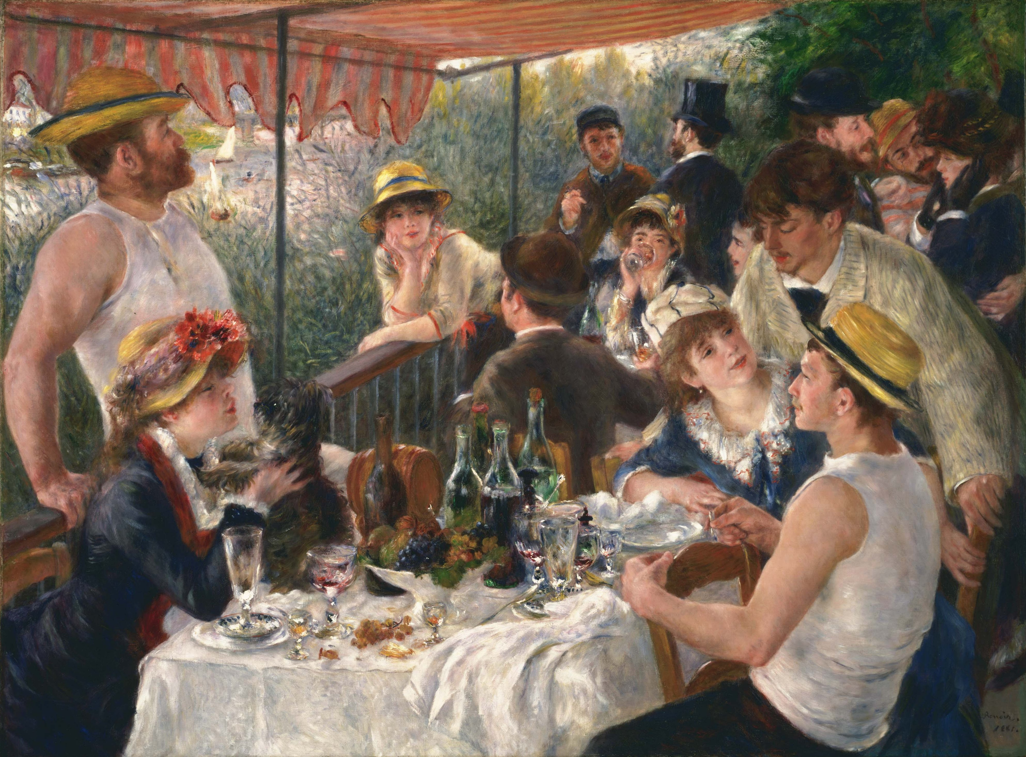 Pierre Auguste Renoir Le Peintre Des Bords De Seine Yvelines Infos