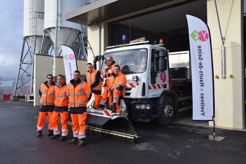 160 agents de la voirie mobilisables pour surveiller les routes pendant l'hiver