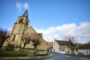 Centre bourg de Choisel © CD78/N.DUPREY
