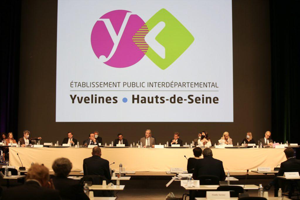 78-92 : Débat d'orientations budgétaires 2021 © CD78/N.DUPREY