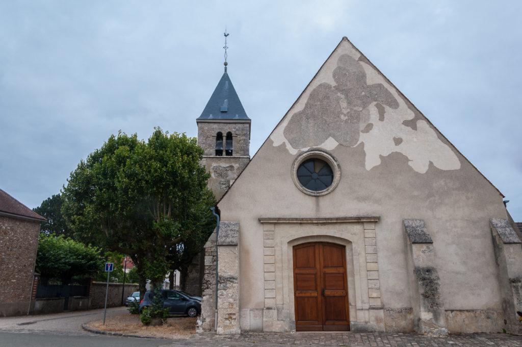 L'église Saint-Nicolas les Alluets-le-Roi a besoin de Rénovation. © CD78/C.BRINGUIER