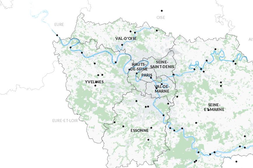 Une carte interactive pour prévoir les inondations