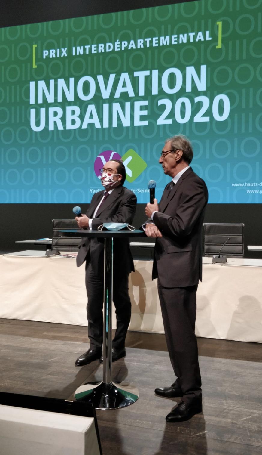 Prix interdépartemental de l'innovation urbaine 2020 © Twitter CD92