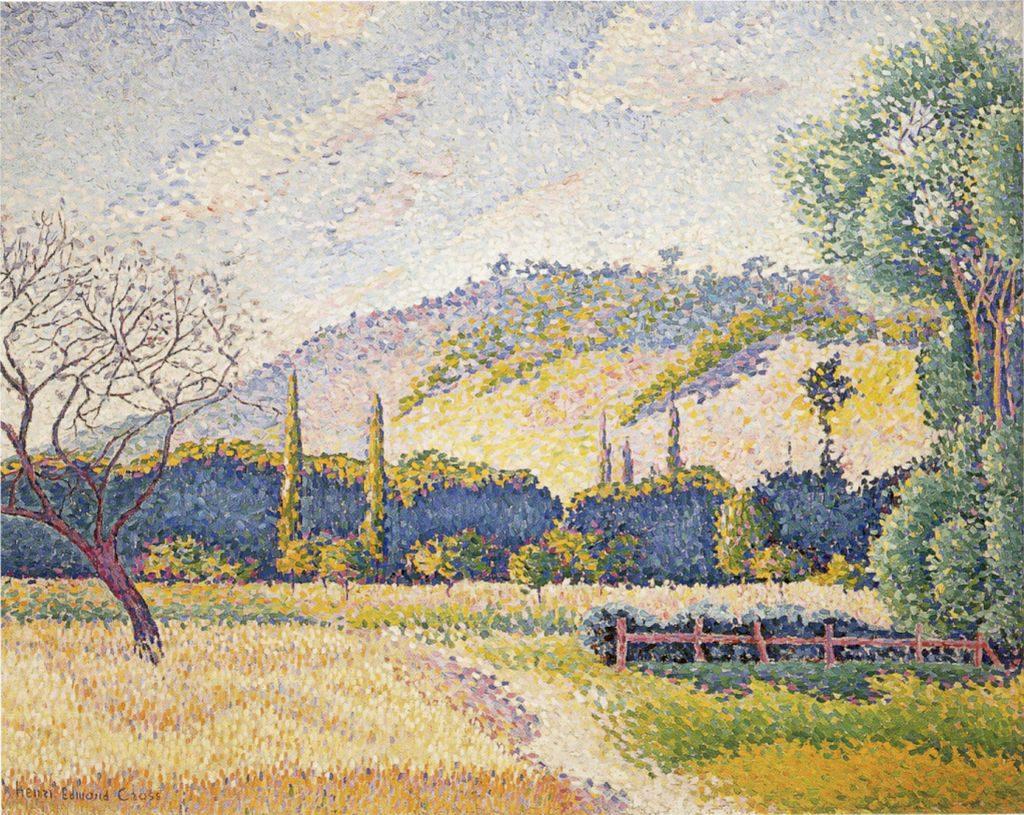 Paysage (vers 1896-1899), Honolulu Academy of Arts. / Wikimédia